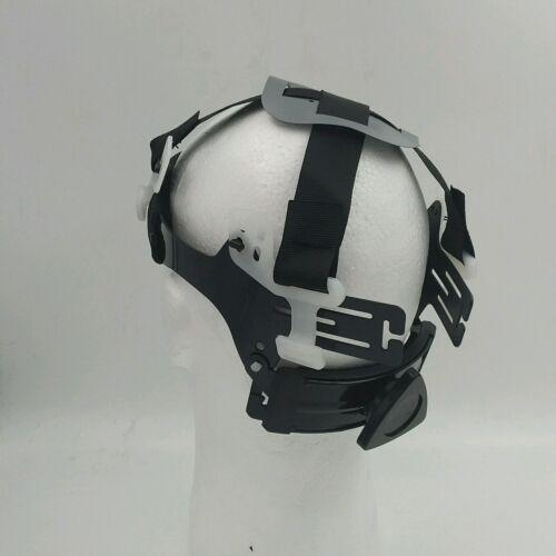 Hard Hat custom hydro dipped , OSHA approved see,hear no evil SKULLS, NEW !! 4