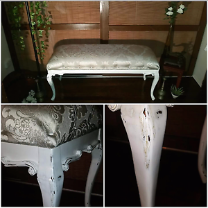 French country inspired  bench seat Slade Point Mackay City Preview