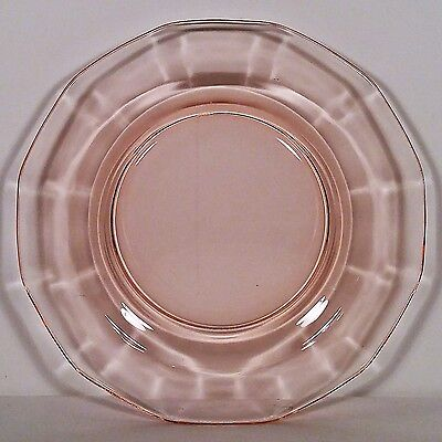 "Rare Fairfax Orchid 6"" Bread and Butter Plate by Fostoria Glass Co. No Reserve"