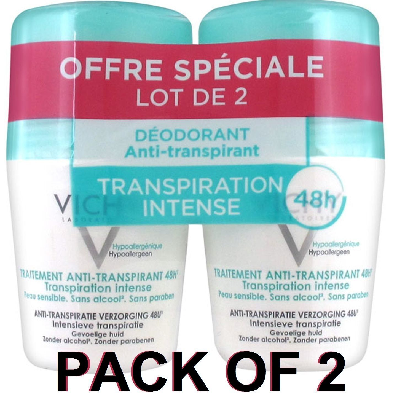 VICHY Anti-Perspirant Anti-Transpirant 48Hrs Intense ROLL-ON