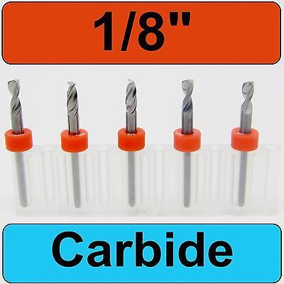 18 Diameter - 18 Shank Carbide Drill Bits Five Pcs Cnc Dremel Model Rs