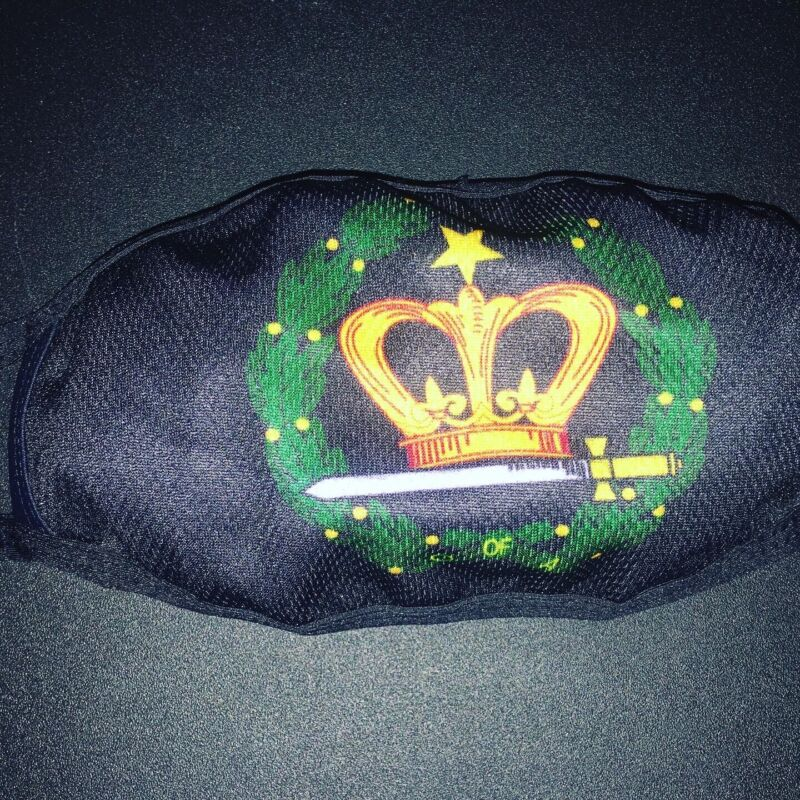 Order Of The Eastern Star Amaranth OES face mask reusable washable breathable!