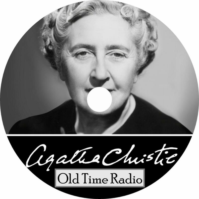 Agatha Christie Old Time Radio Shows OTR Poirot Marple 57+ Episodes on 1 MP3 DVD