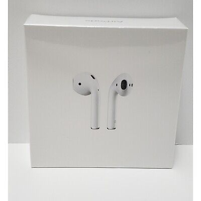 Genuine Apple AirPods 2nd Generation with WL Charging Case - White (Sealed)