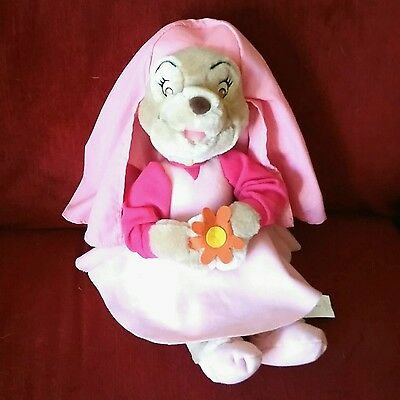 Walt Disney Company MAID MARIAN Robin Hood 15in Plush Fox Pink Outfit Flowers](Maid Marian Outfit)