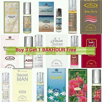 Al Rehab Oil Concentrated Perfume   Attar  Itr  Non Alcoholic Fragrance Oil 6 Ml