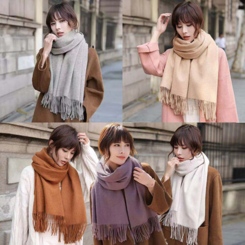 Men Women Winter Warm 100% CASHMERE Scarf Solid Plaid Wool SCOTLAND High quality Clothing, Shoes & Accessories