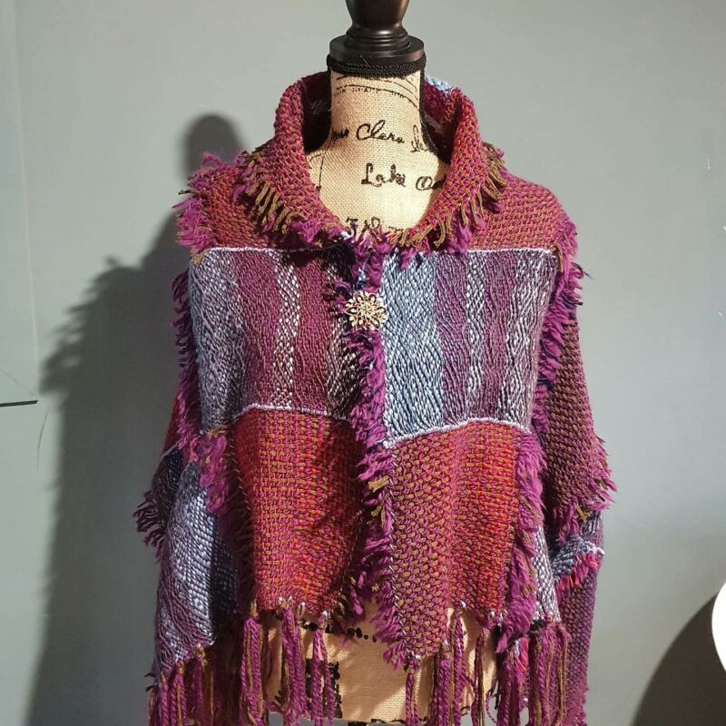 Handmade+Ladies+Shawls+%28Woven+Textile+Art%29%3A+%22LEGENDARY+LADIES%22+by+Victory+Day+