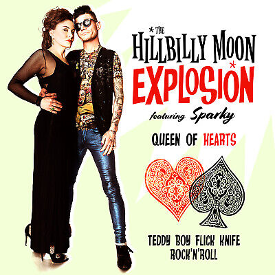 Hillbilly Moon Explosion 'Queen of Hearts' 7