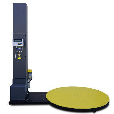 Prime Scales 5000 Lb Stretch Wrap Machine Built-in Scale Label Printer Cal Cert
