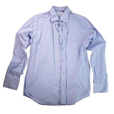Salvatore Piccolo Men's Blue Dress Shirt 16.5