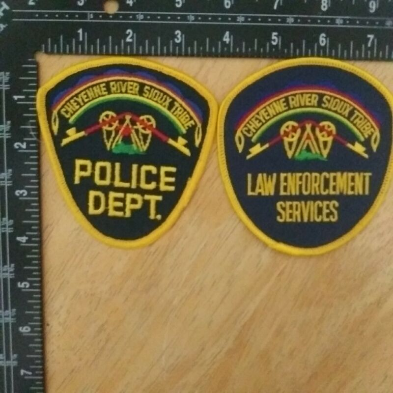 Cheyenne River Sioux Tribe Police Dept. And Law Enforcement Services Patch