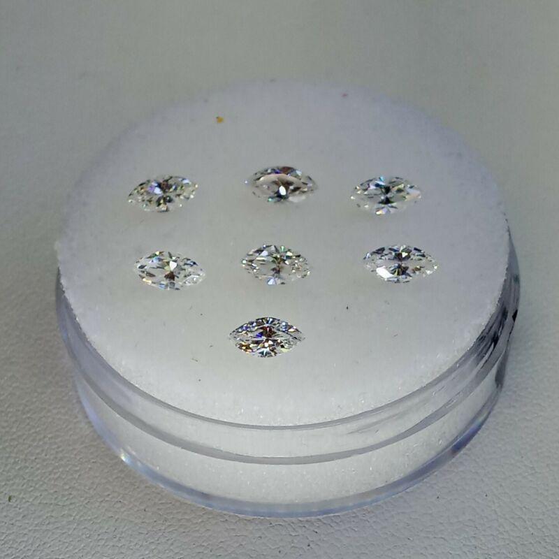 Fabulite strontium titanate ClearAntique/Vintage gemstone.new antique stock fb95
