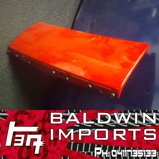 NISSAN 300ZX Z32 FRONT NOSE PANEL IN RED BADGELESS