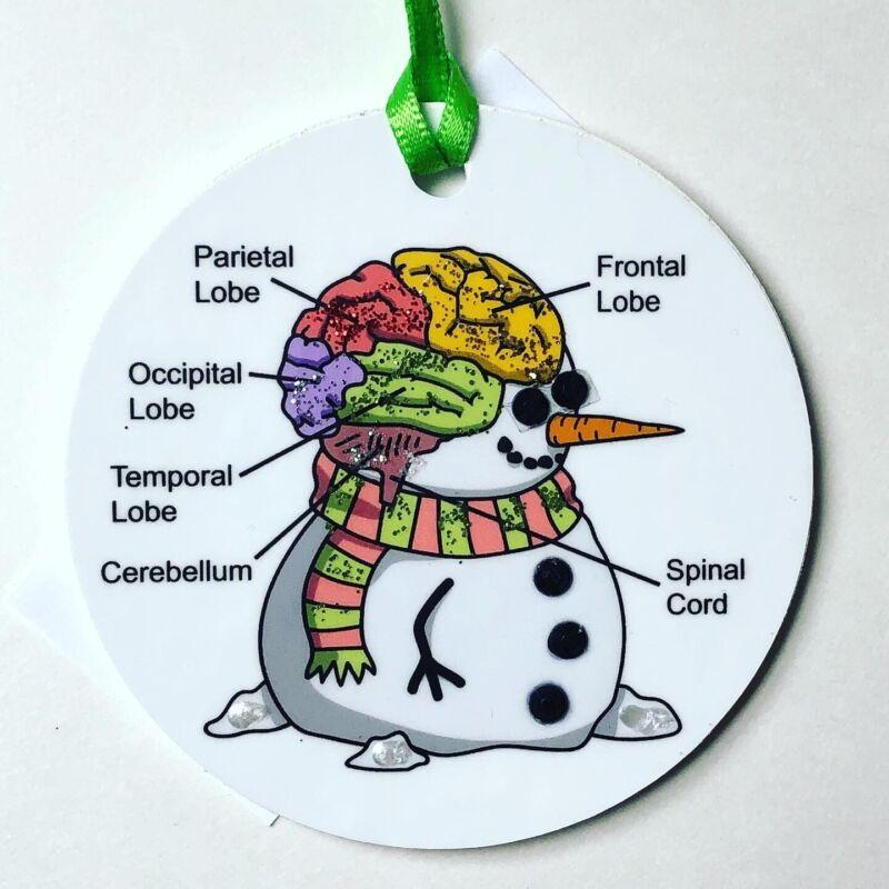 Psychologists/ Psychotherapists/Neurologist Christmas Medical Ornament