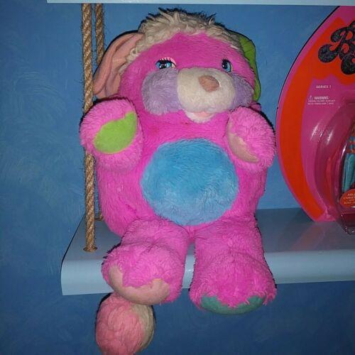 "Vintage Popple Dark Pink Plush 15"" 1986 Rare"