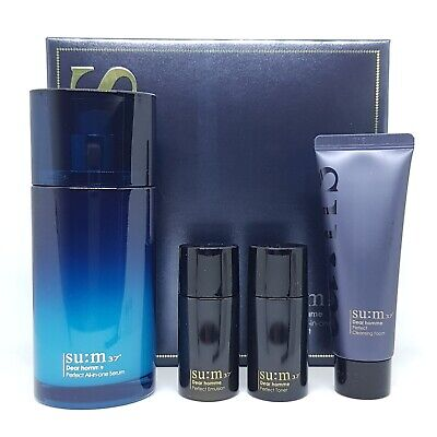 SU:M37 Dear Homme Perfect All In One Serum Special Set Anti Wrinkle K-Beauty
