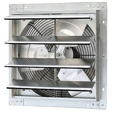 iLiving 16 Inch Variable Speed Shutter Exhaust Fan, Wall-Mounted ILG8SF16V New