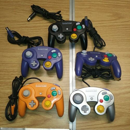 You Pick! Nintendo GameCube Official Controller Tested Authentic Good Joysticks