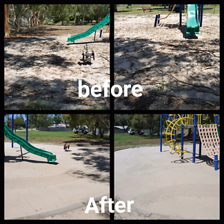 White Wash Sand top up or cleaning & Sifting  playground sandpits