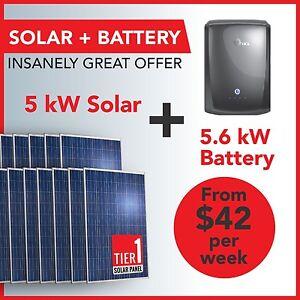 Grid Hybrid 5.6kWh Battery + 5kW Solar System – Fully Installed St Kilda Port Phillip Preview