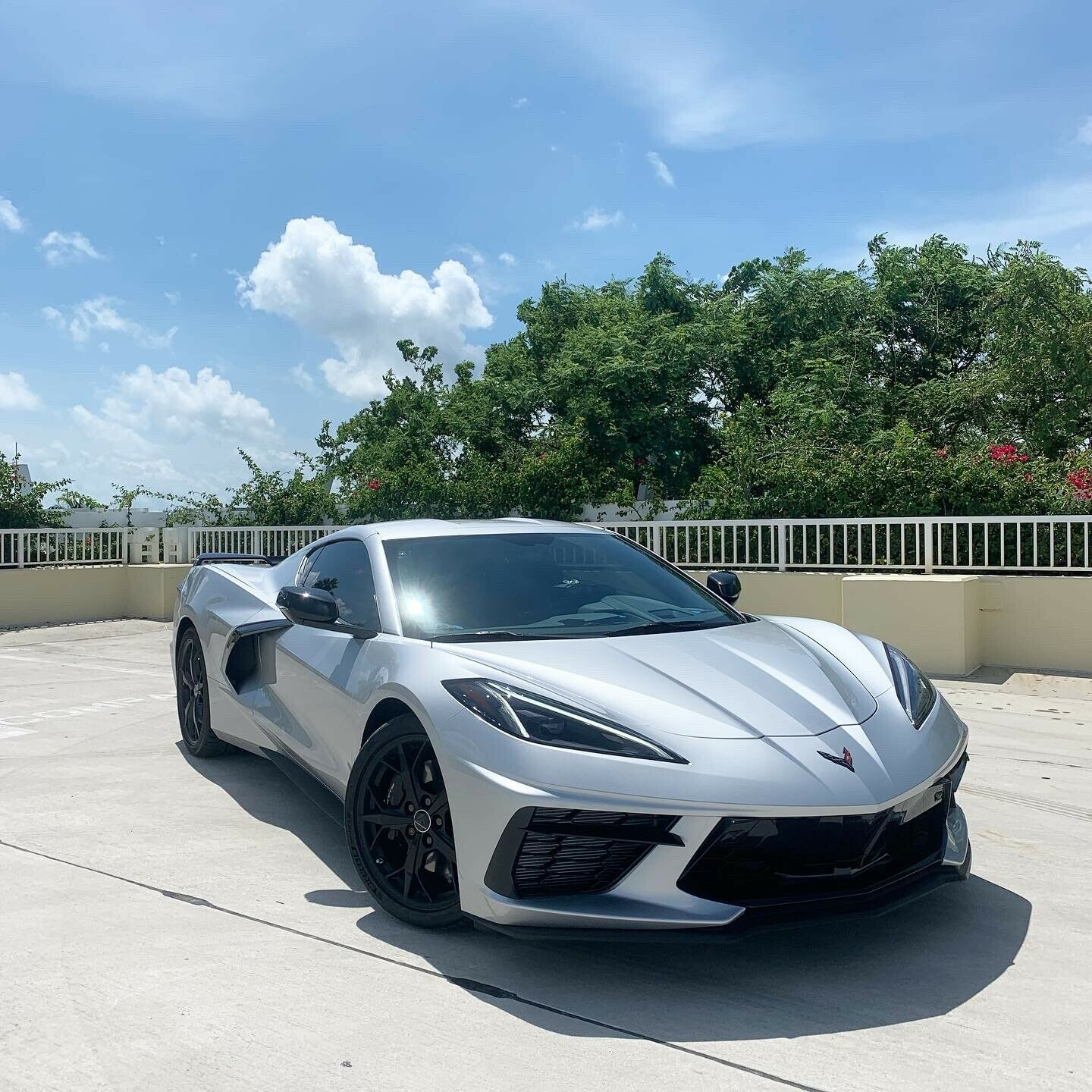 2020 Silver Chevrolet Corvette  Z51 | C7 Corvette Photo 1