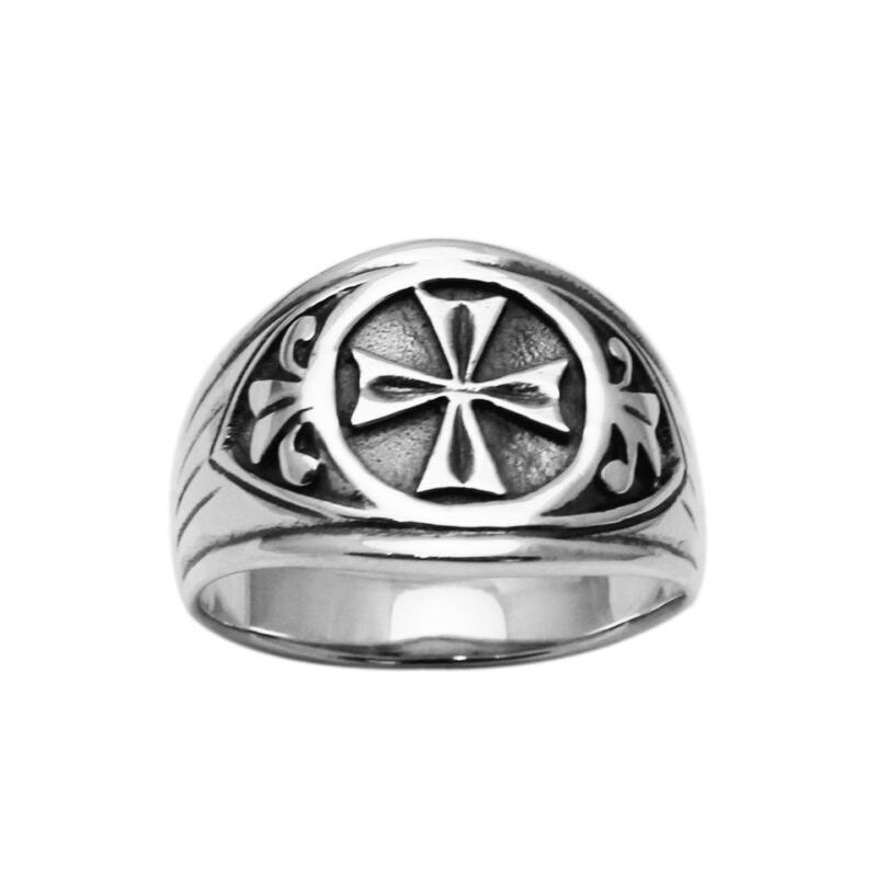 Mens Antique Silver Ring | eBay