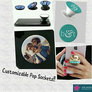 Customizable Pop Sockets