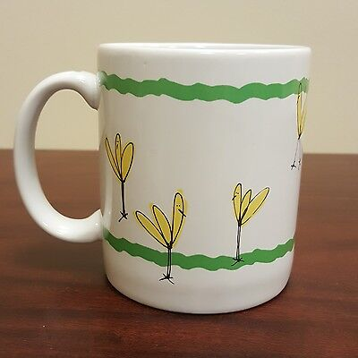 1995 Tag Brand Firefly Insect Coffee Mug Made in - Firefly Insect