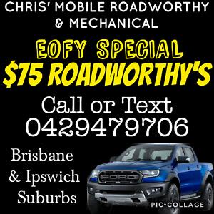 Mobile Roadworthy's