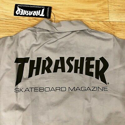 [Rare Japan] THRASHER x PRODUCTS Work Shirt L / Vans Supreme independent trucks