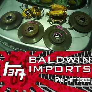 NISSAN SKYLINE R34 GTR BREMBO BRAKE PACKAGE FRONT & REAR W/ ROTOR Rathmines Lake Macquarie Area Preview