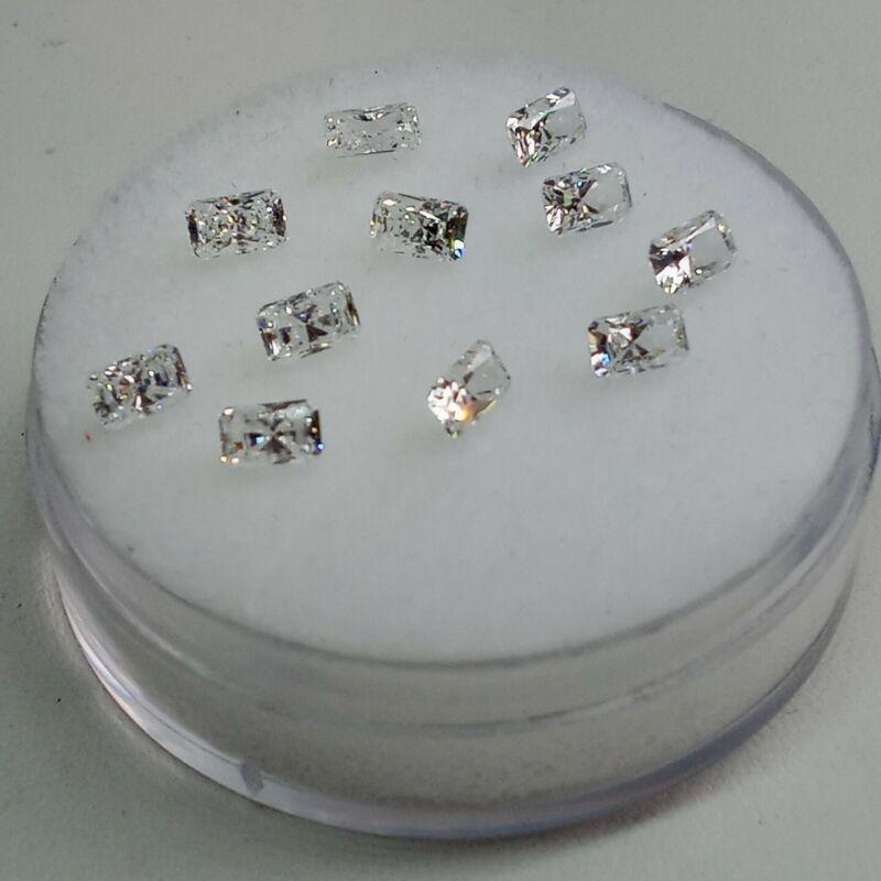 Fabulite strontium titanate ClearAntique/Vintage gemstone.new antique stock fb85