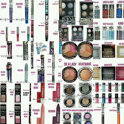 LOT 30 Hard Candy Makeup NO DUPLICATES Eye Lips Nails Face NEW Pretty WHOLESALE