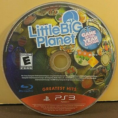 LITTLE BIG PLANET: GAME OF THE YEAR(PS3) USED AND REFURBISHED (DISC ONLY) #10923 comprar usado  Enviando para Brazil