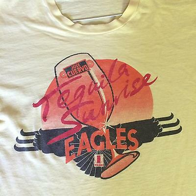 The Eagles Tequila Sunrise Promo T-Shirt Jose Cuervo Asylum Records 1973