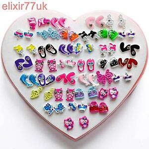 earrings for toddlers new set 36 pairs stud earrings flower 1687