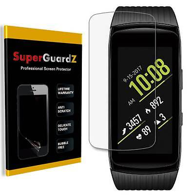Clear Screen Protector Shield (8X SuperGuardZ® Clear Screen Protector Guard Shield For Samsung Gear Fit2)