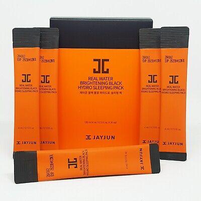 JAYJUN Real Water Brightening Black Hydro Sleeping Pack 4ml x 30 Sticks K-Beauty