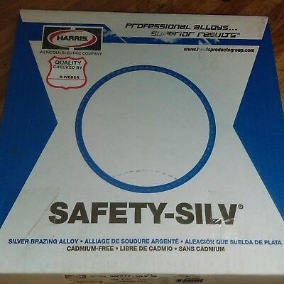 Harris Safety Silv 56  1 16  Silver Solder Brazing Alloy 1 Troy Ounce