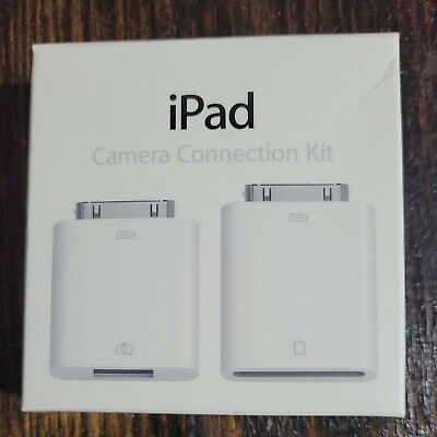 APPLE IPAD CAMERA CONNECTION KIT & CABLE MC531ZM/A Model A1362 A1358 New GENUINE
