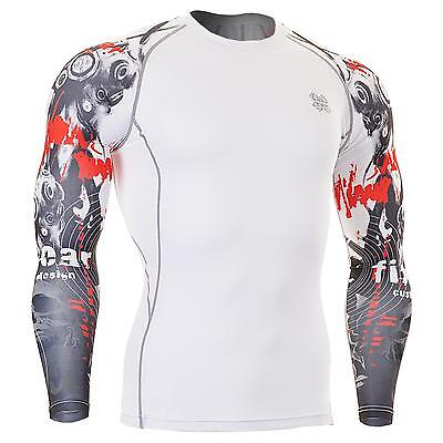 FIXGEAR CPD-W30 Compression Skin Tights Under Shirts MMA Workout Fitness GYM