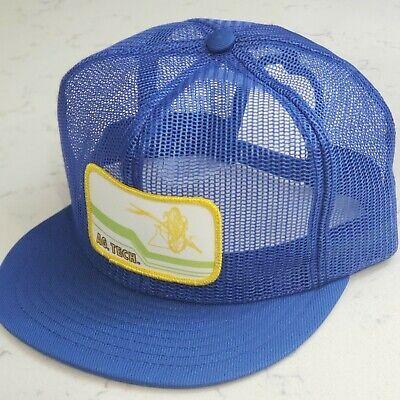 Vintage AG TECH Snapback Trucker Hat Full Mesh Patch Cap Louisville USA