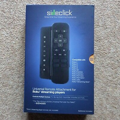 SIDECLICK SC2-RK15K Universal Remote Attachment for Roku players - Brand new