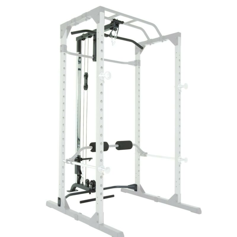 PROGEAR 310 Home Fitness Olympic Lat Pull Down and Low Row Cable Attachment NIB