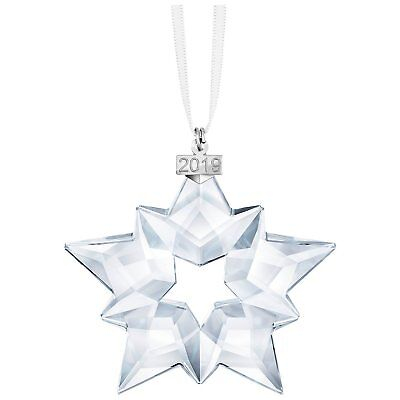 Swarovski Crystal 2019 ANNUAL EDITION LARGE CHRISTMAS ORNAMENT -
