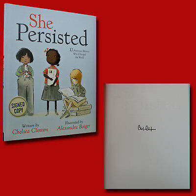 She Persisted Signed Chelsea Clinton