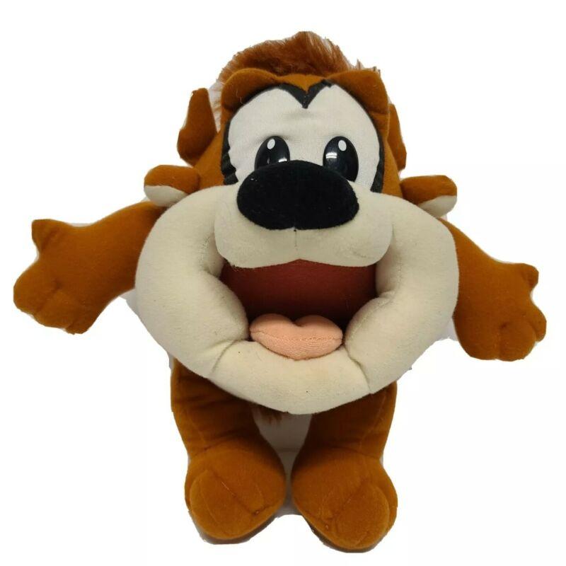 Vintage Tyco Looney Tunes Loveables Baby Taz Plush Stuffed Animal