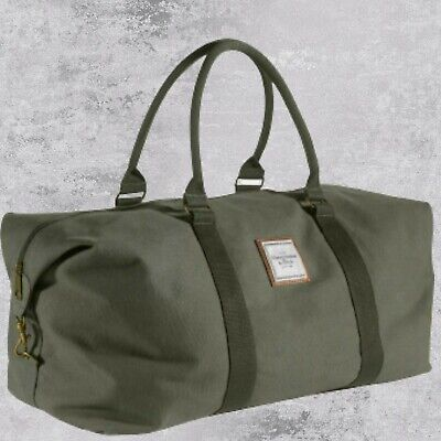 NEW Abercrombie & Fitch Large Green Duffle / Holdall / Travel /...