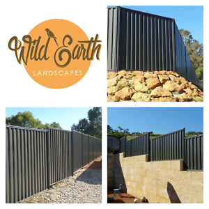 We install colourbond fencing